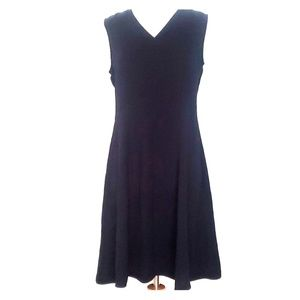 Uniqlo Japan V Neck Fit and Flare Dress Q4